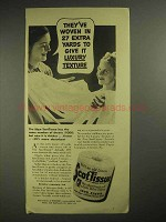 1937 Scott Tissue Waldorf Toilet Paper Ad - Luxury