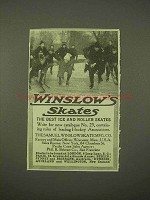 1913 Winslow Ice Skates Ad