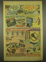 1972 Kenner SSP Super Sonic Power Racers Ad