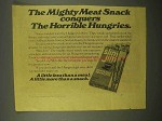 1976 Slim Jim Beef Snacks Ad - The Horrible Hungries