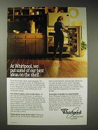 1987 Whirlpool Refrigerator Ad - Best Ideas on Shelf