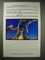 1993 Nuclear Energy Ad - Good For the Air and Kids