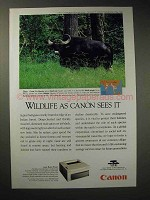 1994 Canon LBP-430 Laser Beam Printer Ad - Gaur