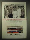 1994 Waterman Pen Ad - The McCooey Brothers, Sister