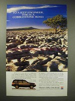 1994 Jeep Grand Cherokee Limited Ad - Cobblestone Road