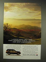 1994 Jeep Grand Cherokee Limited Ad - Landscapes