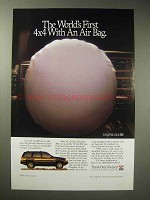 1994 Jeep Grand Cherokee Limited Ad - 4x4 With Air Bag