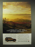1995 Jeep Grand Cherokee Limited Ad - Landscapes