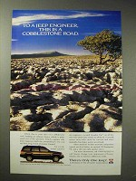 1995 Jeep Grand Cherokee Limited Ad - Cobblestone Road