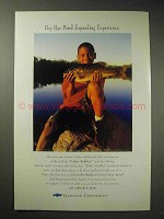1995 Chevrolet Outdoor Conservation Award Ad