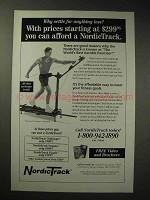 1996 NordicTrack Exercise Equipment Ad - Why Settle?