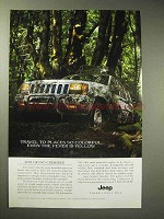 1996 Jeep Grand Cherokee Limited Ad - Places Colorful