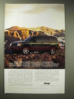 1996 Jeep Grand Cherokee Limited Ad - Luxury Vehicle
