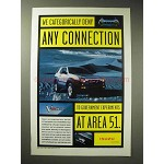1998 Isuzu VehiCross Ad - Deny Connection at Area 51