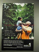 1999 Metropolitan Life Insurance Ad - Make Sure