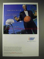 2000 American Cancer Society Ad - Julius Dr. J Erving