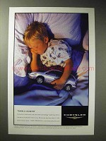 2001 Chrysler Town & Country MiniVan Ad