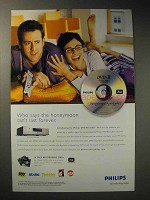 2002 Philips DVD Recorder Ad - Honeymoon Forever