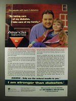 2002 GlaxoSmithKline Avandia Ad - Care of Diabetes