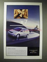 2002 Chrysler Town & Country Minivan Ad