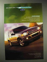 2002 Ford Explorer Ad - Seek and Find No Boundaries