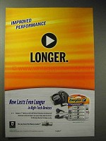 2003 Energizer E2 Battery Ad - Performance