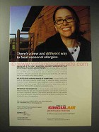 2003 Merck Singulair Ad - Treat Seasonal Allergies