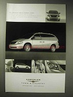 2003 Chrysler Town & Country Limited Minivan Ad
