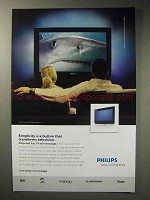 2006 Phillips HD Flat TV with Ambilight Ad
