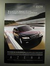 2006 Hyundai Azera Car Ad - Top-ranked in World