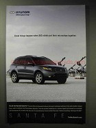 2006 Hyundai Santa Fe Ad - Robots Microchips Together