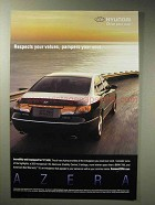 2006 Hyundai Azera Car Ad - Pampers Your Soul