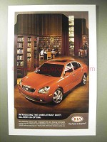 2006 Kia Optima Car Ad - Unbelievably Quiet
