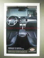 2006 Kia Optima Car Ad - Incredbily Comfortable