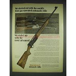 1970 Browning Engraved Grade II Automatic Rifle Ad