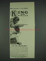 1913 King Air Rifle, Pop Gun Ad - Like Big Brother