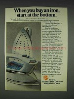 1974 Hoover Jetsteam Iron Ad - Start at the Bottom
