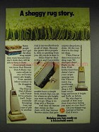 1972 Hoover Dial-a-Matic Vacuum Cleaner Ad