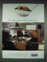 2003 SieMatic Kitchen Cabinet Ad - Seriously Happy