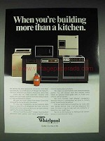 1979 Whirlpool Appliances Ad - More Than a Kitchen