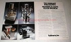 1978 Cuisinart DLC 7 Food Processor, Cookware Ad