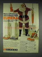 1977 Eureka Whisk, Upright + Vacuum Cleaner Ad