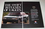 1989 Eagle Premier Car Ad - The Swift Reflexes