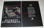 1989 Eagle Car Ad - An Eagle's Environment