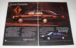 1990 Eagle Premier ES Car Ad - Arrow-Dynamic