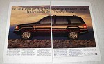 1993 Jeep Grand Cherokee Limited Ad - World Revolves
