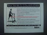 1994 NordicTrack Walkfit Exercise Machine Ad - Fitness