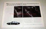 1995 Chevrolet Lumina Car Ad - Room For Six Adults