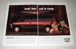 1995 Chevrolet Astro LT AWD Minivan Ad - Send to Camp
