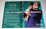 2000 SmithKline Beecham Avandia Ad - I Am Stronger than Diabetes